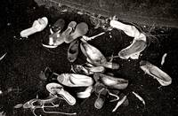ABANDONED SHOES, EDIT B, ENVIRONMENTAL STILL LIFE