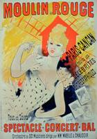'Moulin Rouge' (colour litho)