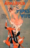 Advertisement for 'Papa's Wife'
