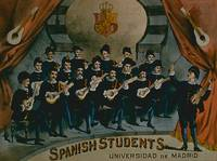 'Spanish Students, University of Madrid' (colour l