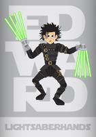 Edward Lightsaber Hands
