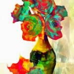 """Paper Rosies"" by leapdaybride"