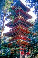 Pagoda: A Very Difficult Exposure on Film