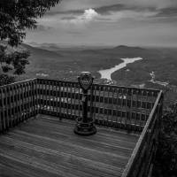 lake lure overlook by Alexandr Grichenko