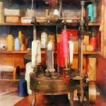 """Supplies in Tailor Shop"" by susansartgallery"