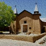 """Iglesia de San Ysidro Church New Mexico"" by Wilford"
