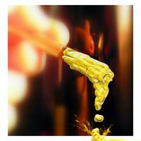 DRIPPING OUTSIDE THE BOX, V.3, ART PHOTOGRAPH BY N