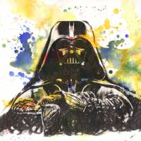 Darth Vader Star Wars Art Art Prints & Posters by Isabelle Dillard