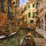 """Venice Canal One"" by ArtbyDesign"
