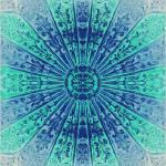 """Blue Mandala"" by ElevenMoonArt"