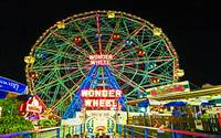 CONEY ISLAND'S WONDEROUS WONDER WHEEL IN NEON