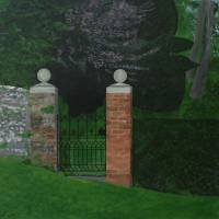 Houghton Lodge Garden Art Prints & Posters by robert harris