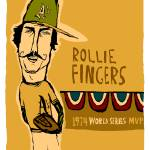"""Rollie Fingers Oakland A"