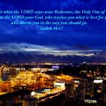 """""""Isaiah 48, City night Singapore (new)"""" by sghomedeco"""