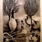 """Boy & Geese"" by SmithStudios"