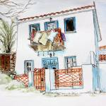 """Skiathos Townhouse"" by yvonneayoub"
