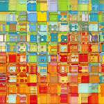 """Tile Art #4, 2012"" by MarkLawrence"
