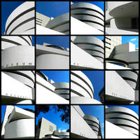Guggenheim Museum Collage
