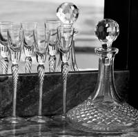 Glasses and Decanter