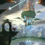 """Sky Fortress"" by ChucksArtBox"