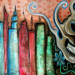 """Skull City"" by ArtPrints"