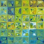 """""""Tile Art #5b 2012. Modern Tile Mosaic Fine Art"""" by MarkLawrence"""