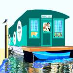 """Houseboat"" by mariancates"