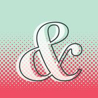 Pop Art Ampersand