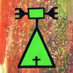 """""""Arapaho Petroglyph II"""" by LimeCreekArt"""