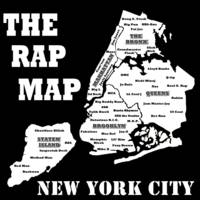 The Rap Map: New York City