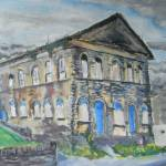 """derelict parthenon in Haworth"" by markrobbart"