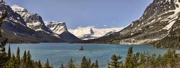 St Mary Lake Panorama