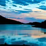 """Sunrise at Meadowlark Lake Big Horn National Fores"" by SamSherman"