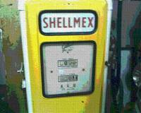 YELLOW PETROL PUMP.