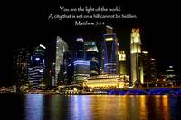 Night Light Singapore, Matthew 5:14