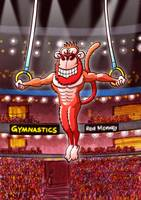 Olympic Flying Rings Monkey
