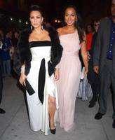 Kim Kardashian and Lala Vasquez