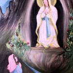 """OUR LADY OF LOURDES"" by woodmaster"