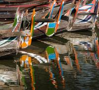Reflected Boats