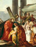 Jesus consoles the women of Jerusalem, Stations of