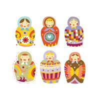Cute Matryoshka