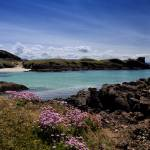 """Clachtoll Bay and Split Rock"" by derekbeattieimages"