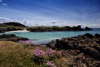 Clachtoll Bay and Split Rock