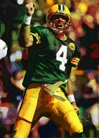 Brett Favre, Green Bay Packers NFL Art