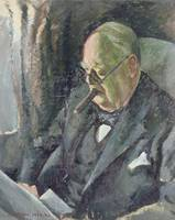 Portrait of Sir Winston Churchill (1874-1965)