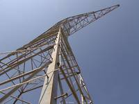 345-kV Angle Shot of Tower