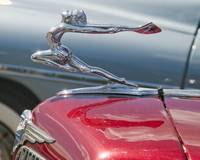 Red 1934 Buick Tourer Mascot