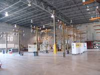 Warehouse Broad View of Demo 3-phase Lines
