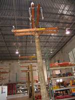 Warehouse Interior Buckarm Structure