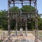 """OG&E Substation left 69-kV Pull"" by TheElectricOrphanage"